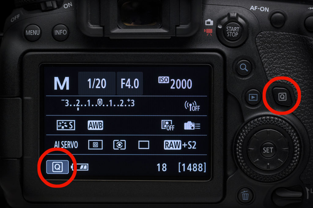 Back-Button AF Setup on Canon EOS 6D Mark II - Camechs